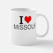 I Love Missouri Mugs