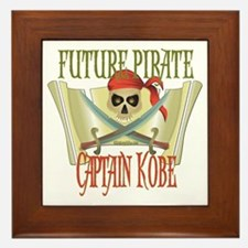 Captain Kobe Framed Tile
