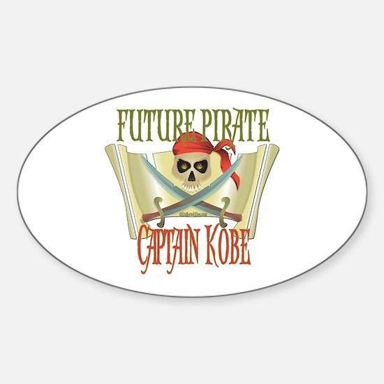 Captain Kobe Oval Decal