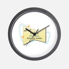 Instant Pole Vaulter Wall Clock