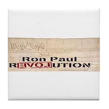 Ron Paul Preamble Tile Coaster