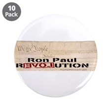 "Ron Paul Preamble 3.5"" Button (10 pack)"