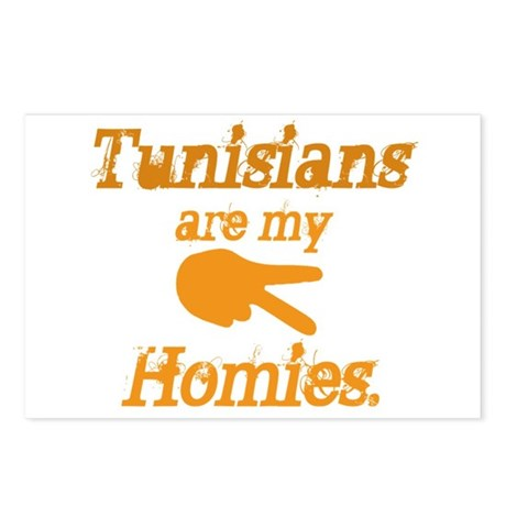 Tunisians are my homies Postcards (Package of 8)