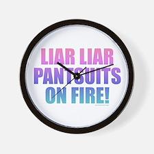 Liar Liar Wall Clock