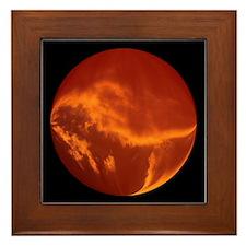 Ball of Fire Framed Tile