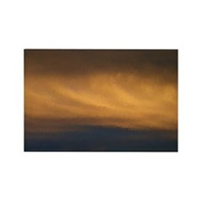 Sunset Oils Rectangle Magnet