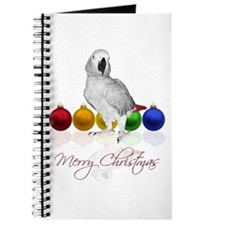 african grey christmas Journal