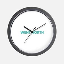Wentworth Type Wall Clock
