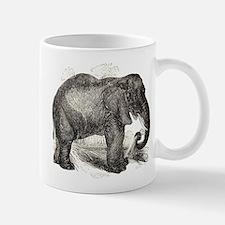 Vintage Elephant Illustration (1891) Mugs
