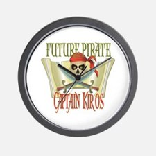 Captain Kiros Wall Clock