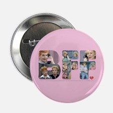 """I Love Lucy: BFF 2.25"""" Button"""
