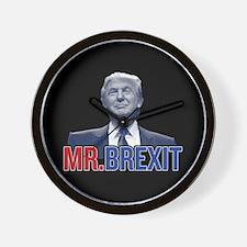 Donald Trump - Mr. Brexit Wall Clock