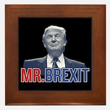 Donald Trump - Mr. Brexit Framed Tile