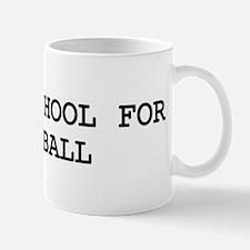Skip school for HANDBALL Mug