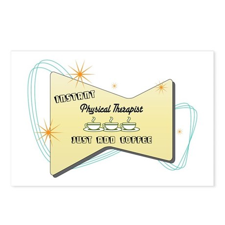 Instant Physical Therapist Postcards (Package of 8