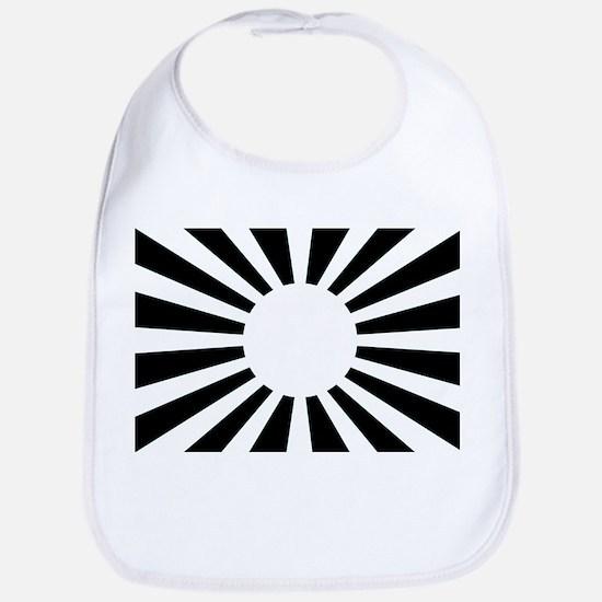 Japanese Rising Sun Flag - Flag of Japan Bib