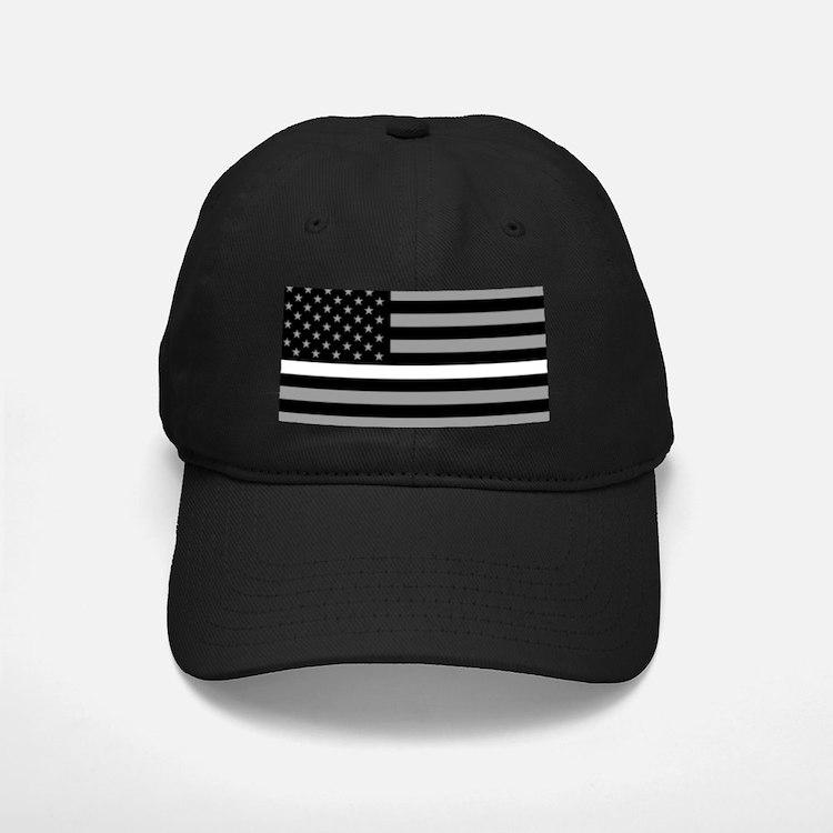EMS: Black Flag & Thin White Line Baseball Hat