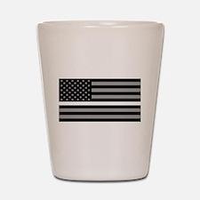 EMS: Black Flag & Thin White Line Shot Glass