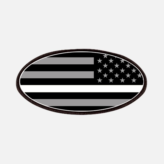 EMS: Black Flag & Thin White Line (Reverse) Patch