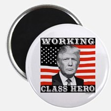 Trump Working Class Hero Magnet
