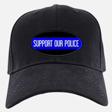 Police: Support Our Police & The Thin Bl Baseball Hat