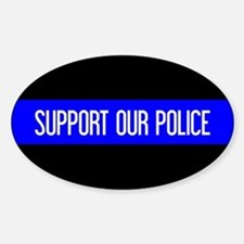 Police: Support Our Police & The Th Decal