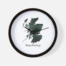 Map - MacAulay Wall Clock