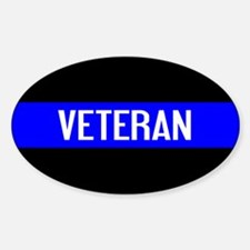 Police: Veteran & The Thin Blue Lin Decal