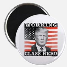 Trump Working Class Hero Magnet Magnets