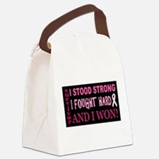 I Stood Strong Canvas Lunch Bag