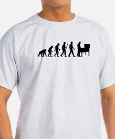 Pinball Evolution Funny Shirt T-Shirt