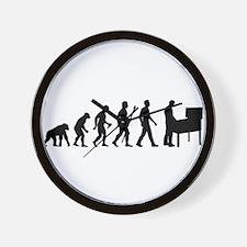 Pinball Evolution Funny Shirt Wall Clock