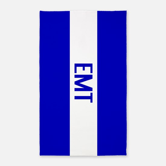 EMT: The Thin White Line Area Rug