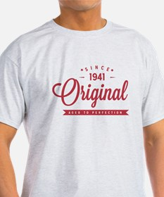 Since 1941 Original Aged To Perfection T-Shirt