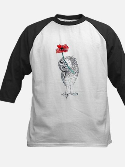 Owl & Poppy Baseball Jersey