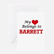 My Heart belongs to Barrett Greeting Cards