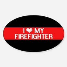 Firefighter: I Love My Firefighter Decal