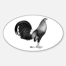 Gamecock Red Hatch Rooster Decal