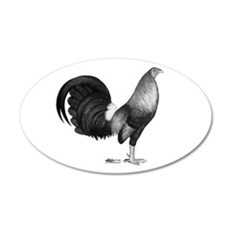 Gamecock Red Hatch Rooster Wall Decal