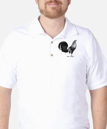Gamecock Red Hatch Rooster Golf Shirt