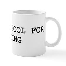 Skip school for CURLING Mug