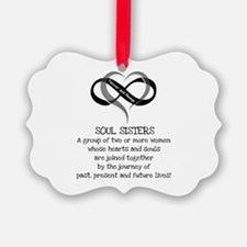 Soul Sisters Are Forever Ornament
