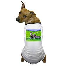 SCHNAUZER tug o war Design Dog T-Shirt
