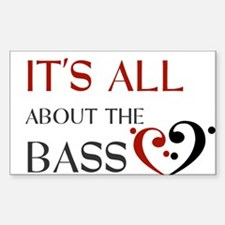 It's All About the Bass Decal