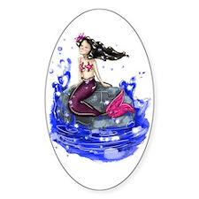 Mandy The Mermaid Sticker