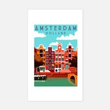 Amsterdam Holland Travel Decal