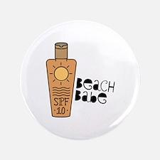 Beach Babe Button