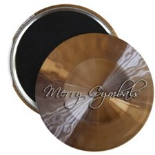 "merry cymbals 2.25"" Magnet (100 pack)"