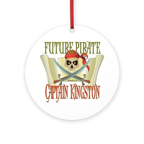 Captain Kingston Ornament (Round)