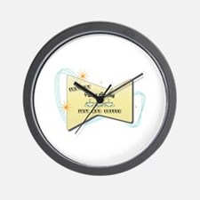 Instant Patent Attorney Wall Clock